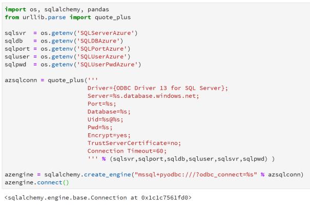 sqlalchemy create_engine sql server driver